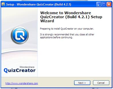 Tutorial IT #1(Instalasi): Quiz Online dengan Quiz Creator (2/4)