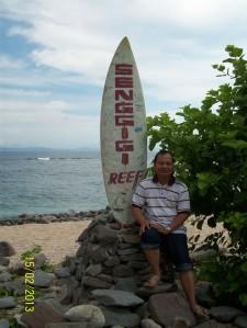 Mejeng di P. Sanggigi di Hari terakhir di P.Lombok.